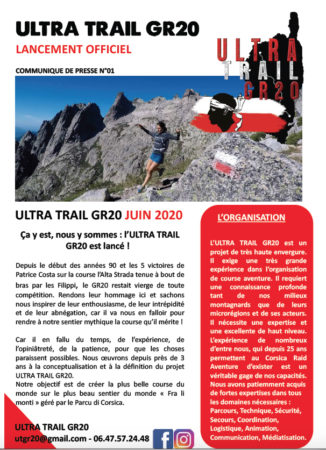 Corse, Course ultra trail