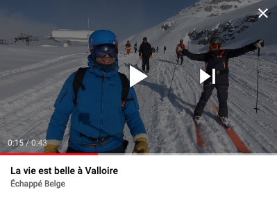video ski valloire skiing zag ski-mojo maurienne french alps free mountain