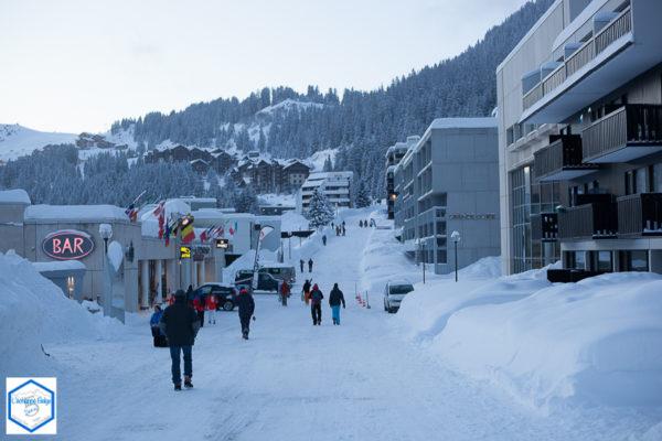 Alpes francaises, haute savoie, ski, sport d'hiver dans le Grand Massif