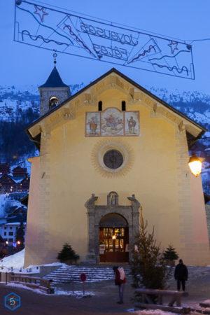 eglise baroque church savoie valloire