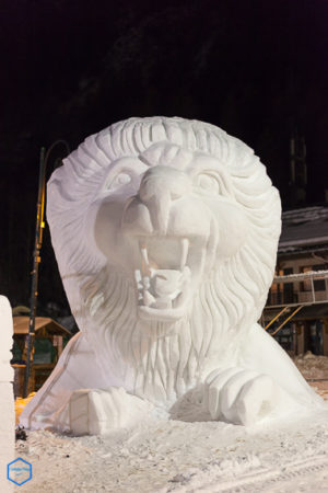 competition internationale sculpture neige valloire