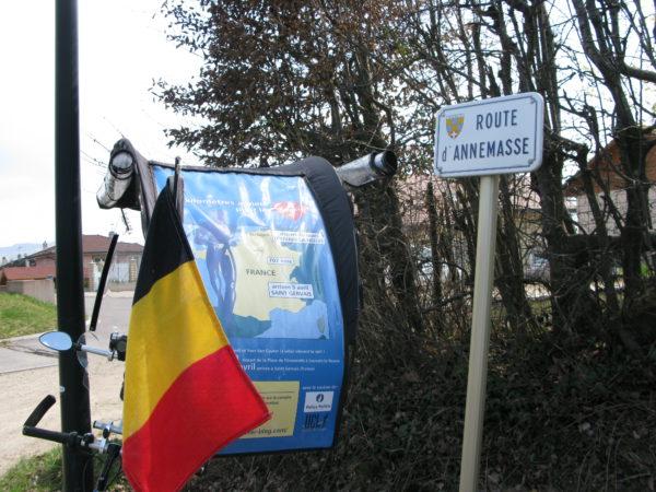 Louvain la neuve à Saint Gervais pour le Télévie