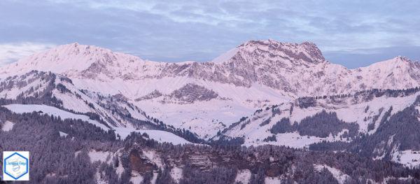 Montagnes Les Aravis, Val d'Arly