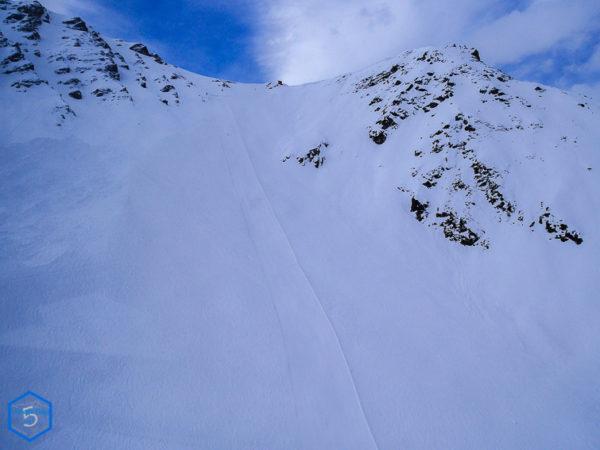 piste de ski à zinal