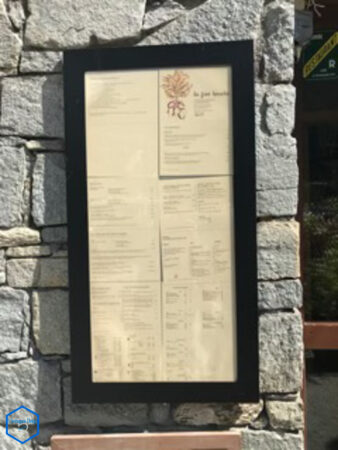 Restaurant la fine bouche à Chamonix