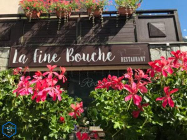 restaurant fine bouche chamonix