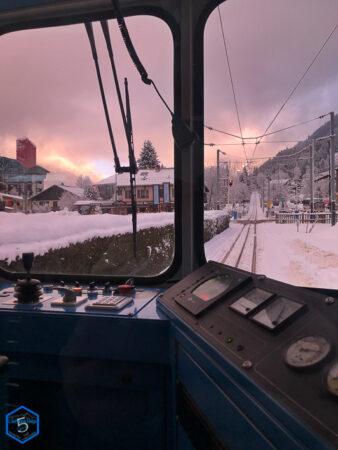 Le train de Montenvers
