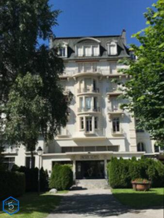 Palace et musée Alpin à Chamonix